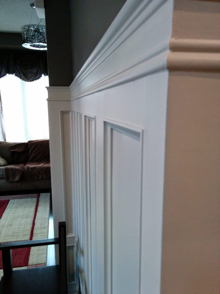 Coffered walls decor by refined renos Newmarket