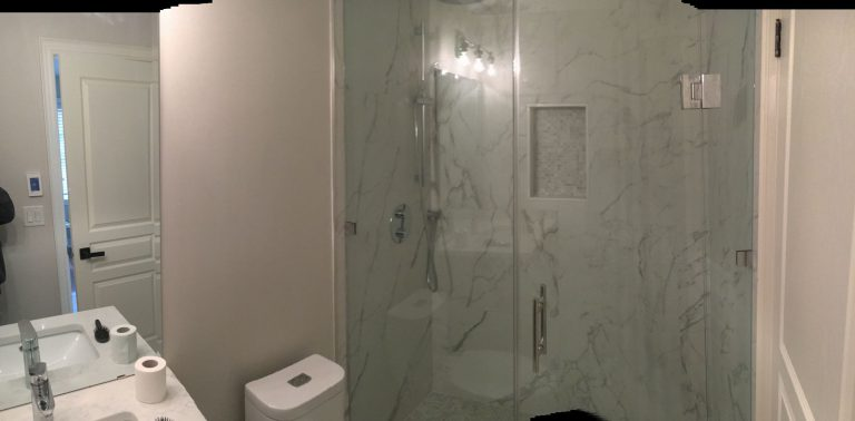 Walk in Shower Remodeling Project - Bathroom Remodeling Company