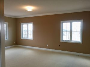beige wall painting by refined renos in custom home renovation project Thornhill