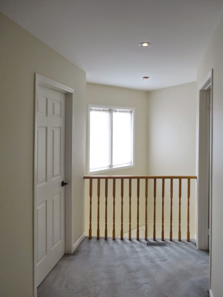 custom home second floor carpet and railings replacement king city