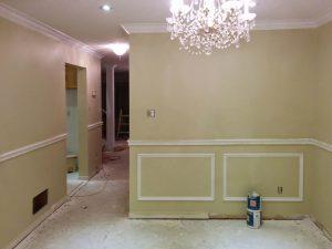 floor replacement in custom basement renovation toronto