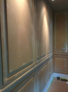 home-Coffered-panels trim on custom wall -coffered walls Thornhill