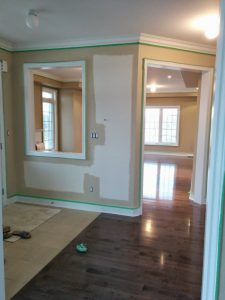 king city house painting and crown moulding installation refined renos project