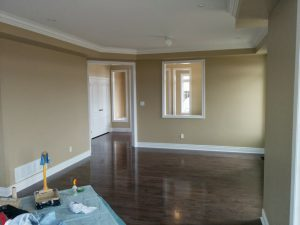 refined renos project of complete home renovation and dry wall painting King city
