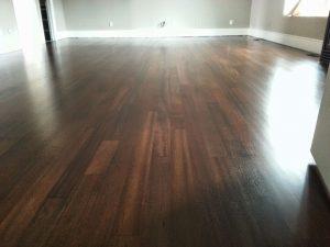 wooden floor replacement in modern home toronto