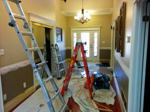 custom home renovation in progress by refined renos north york