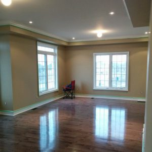 luxury room with crown moulding decor and ceiling potlight-installation by refined renos alliston