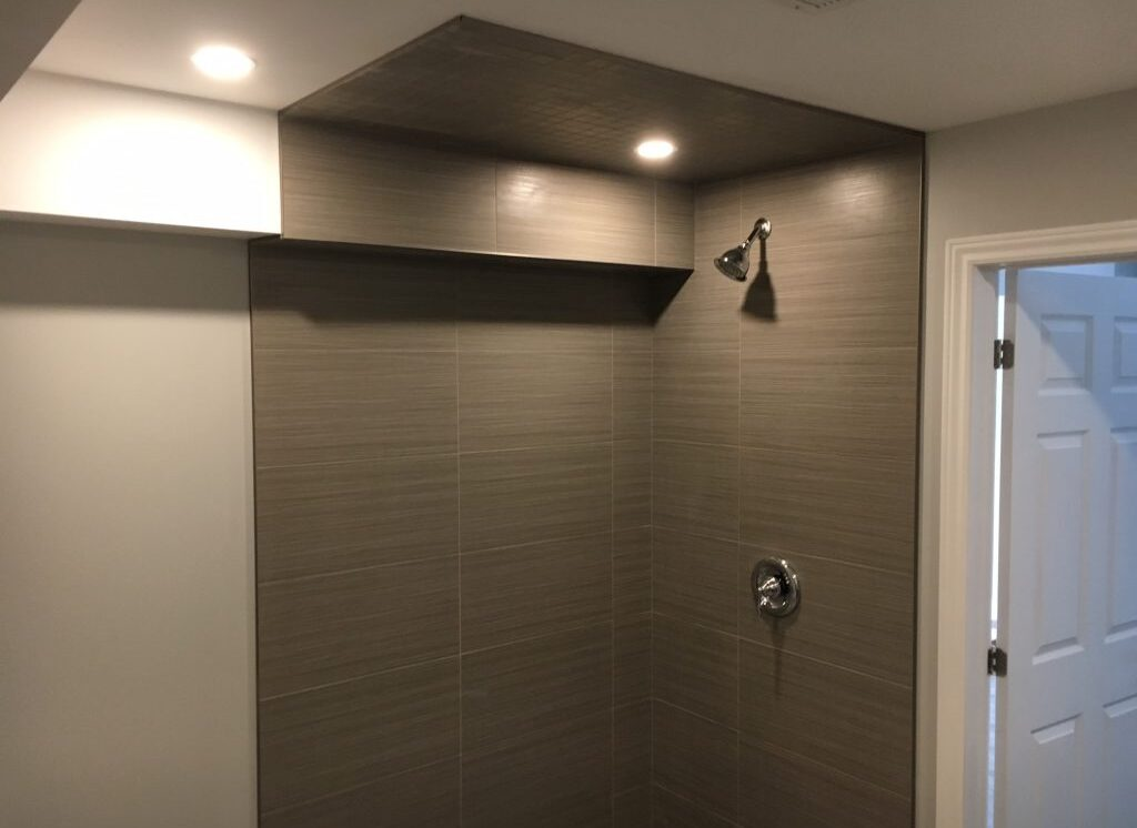 Thub to shower conversion