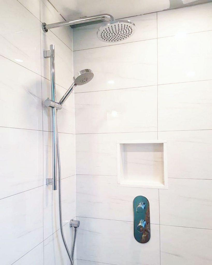 bathroom faucet shower head refined renos