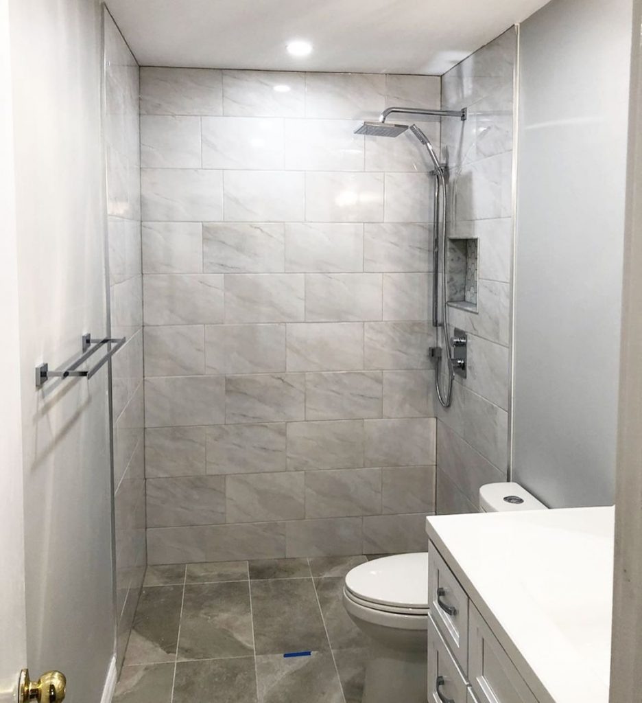 shower renovation accessible