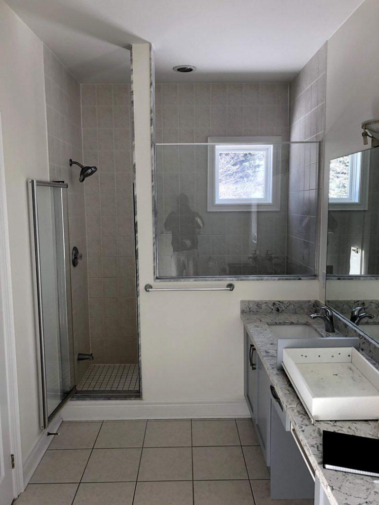 Alex Bungalo bathroom - bathroom renovation cost toronto