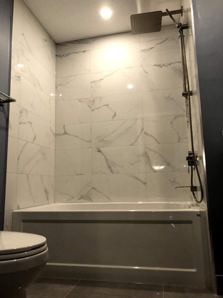 Mike master bathroom - gta kitchens