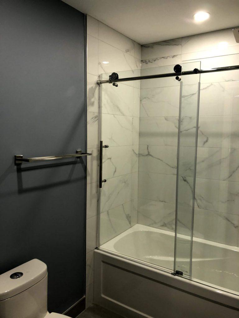 Mike master bathroom - basement renos