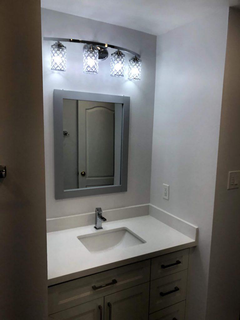 Ted kids bathroom - basement renovation companies