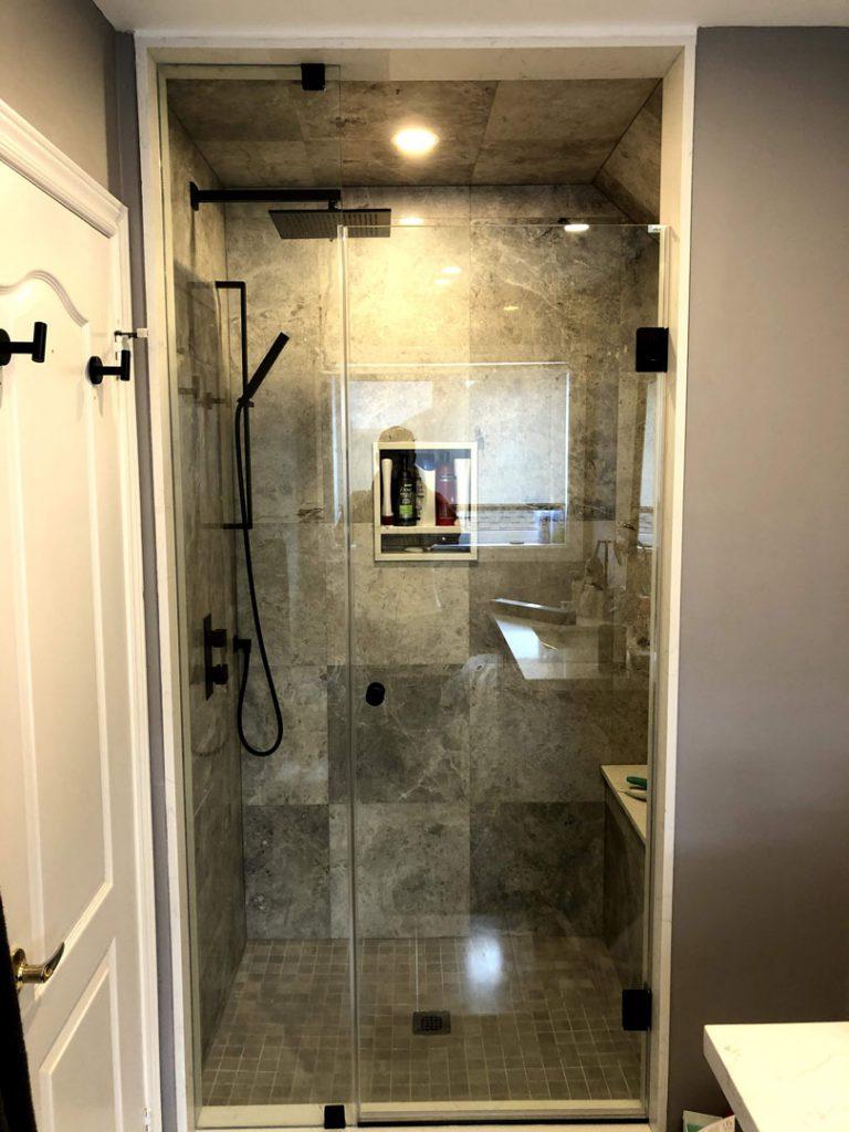 Mike master bathroom - demolition services toronto