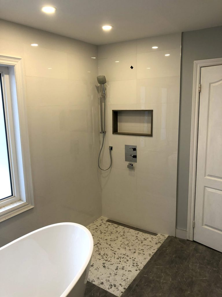 Walk in Shower Remodeling by Refined Renos Toronto