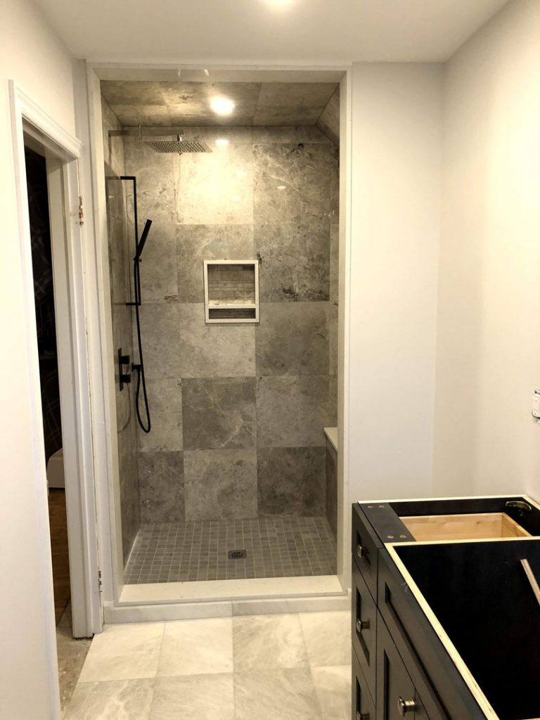 Mike master bathroom - gta kitchen renovations