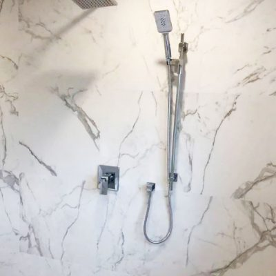 luxury marble decor inside custom shower - bathroom reno ideas