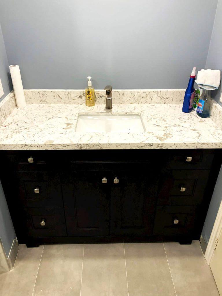 Small Bathroom Vanity Remodeling
