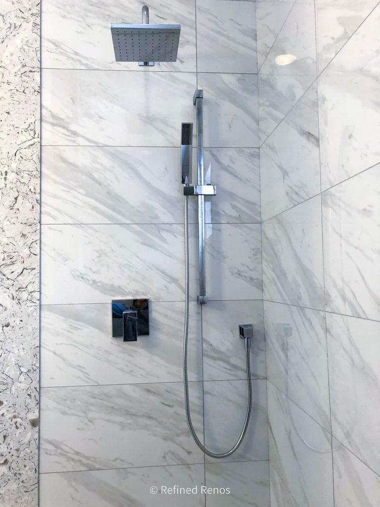 bathroom renovation project - shower design