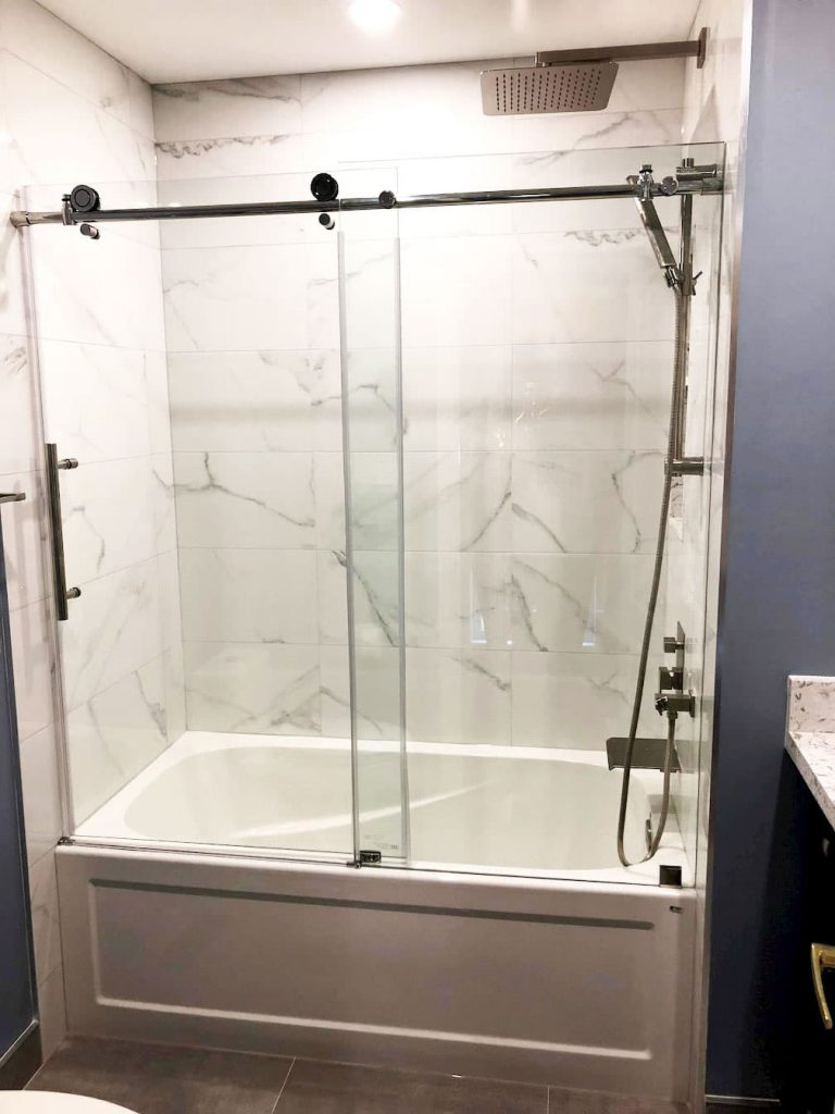 Tub and Shower Combo